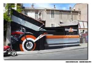 devanture magasin de moto meca 2 roues marseille