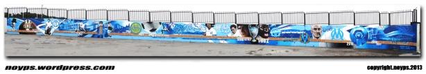 graffiti marseille fresque OM MP2013